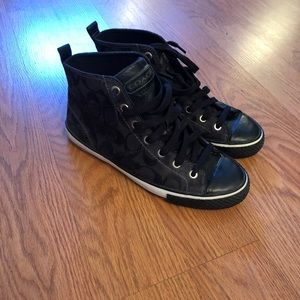 Coach Hightop Sneakers